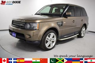 Used 2013 Land Rover Range Rover Sport HSE LUX for sale in Mississauga, ON