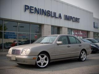 Used 1999 Mercedes-Benz E320 Leather for sale in Oakville, ON