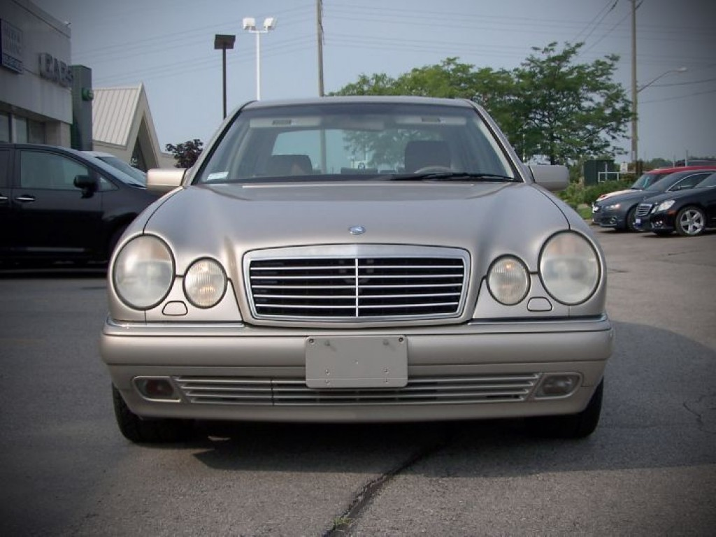 Used 1999 mercedes benz e320 leather for sale in oakville for Mercedes benz ontario ca