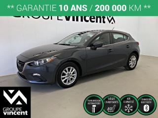 Used 2016 Mazda MAZDA3 SPORT GS ** GARANTIE 10 ANS ** Bas kilométrage! for sale in Shawinigan, QC