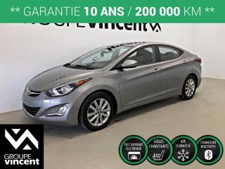 Used 2015 Hyundai Elantra SPORT ** GARANTIE 10 ANS ** Bas kilométrage! for sale in Shawinigan, QC