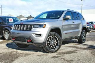 Used 2017 Jeep Grand Cherokee TRAILHAWK *TOIT PANO*GPS*HITCH* for sale in Brossard, QC