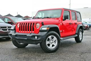 Used 2018 Jeep Wrangler JL UNLIMITED SPORT * GARANTIE PROLONGÉE for sale in Brossard, QC