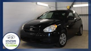 Used 2008 Hyundai Accent Hayon 3 portes, boîte manuelle, L for sale in Val-David, QC
