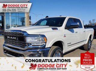 Used 2020 RAM 2500 Limited | 4x4 | Crew Cab | 6.4 Box for sale in Saskatoon, SK