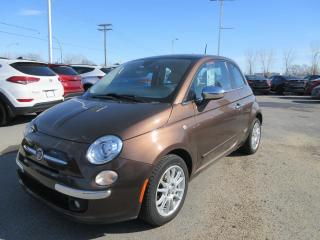 Used 2012 Fiat 500 Voiture à hayon 2 portes Lounge for sale in Joliette, QC