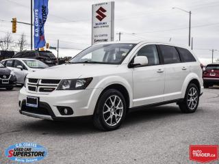 Used 2016 Dodge Journey R/T Rallye AWD ~Nav ~Cam ~Leather ~Power Moonroof for sale in Barrie, ON