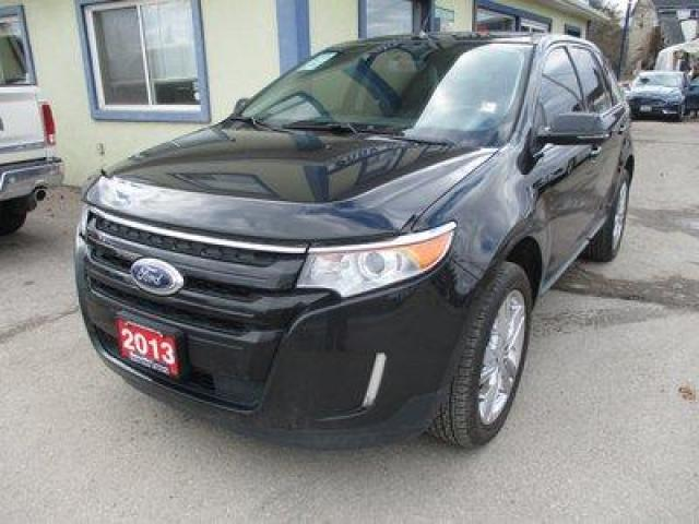 2013 Ford Edge ALL-WHEEL DRIVE LIMITED EDITION 5 PASSENGER 3.5L - V6.. NAVIGATION.. LEATHER.. HEATED SEATS.. POWER DUAL SUNROOF.. BACK-UP CAMERA.. BLUETOOTH SYSTEM..