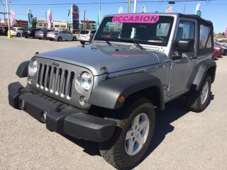 Used 2015 Jeep Wrangler 4WD 2dr Sport for sale in Gatineau, QC