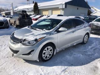 Used 2014 Hyundai Elantra Berline 4 portes, boîte automatique, GL for sale in Longueuil, QC