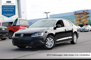 Used 2013 Volkswagen Jetta 2.0L COMFORTLINE **BLUETOOTH*A/C*GR. ELECTRIQUE** for sale in Victoriaville, QC