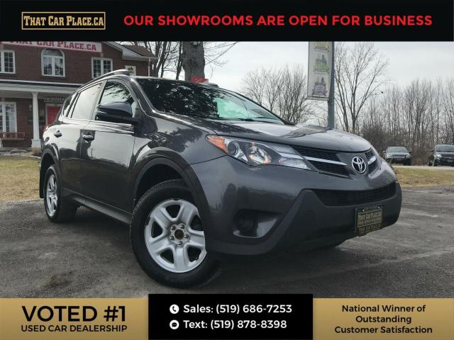 2015 Toyota RAV4 LE AWD, Back Up, Htd Seats, Bluetooth