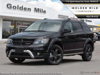 New 2019 Dodge Journey Crossroad AWD: Navi, DVD System, Push Button Start for sale in North York, ON