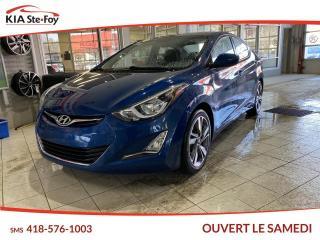 Used 2016 Hyundai Elantra GLS *BM *CERTIFIÉ for sale in Québec, QC