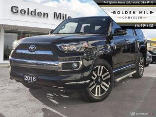 Used 2016 Toyota 4Runner SR5 - LIMITED 5 SEATER, NAVI, SUNROOF for sale in North York, ON