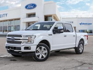 New 2020 Ford F-150 PLATINUM for sale in Winnipeg, MB