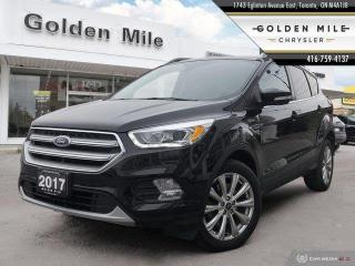 Used 2017 Ford Escape Titanium Leather, Sunroof, Navigation for sale in North York, ON