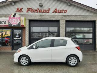 Used 2015 Toyota Yaris Hayon 5 portes, boîte automatique, LE for sale in Sherbrooke, QC
