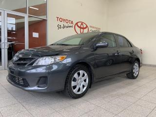 Used 2011 Toyota Corolla * CE * GR ELECT * A/C * CRUISE * 49 700 KMS * for sale in Mirabel, QC
