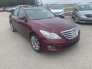 Used 2010 Hyundai Genesis w/Premium Pkg for sale in Waterloo, ON