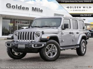 New 2018 Jeep Wrangler Unlimited Sahara 4x4, Demo, Leather, Heated Seats, for sale in North York, ON