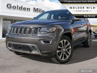 Used 2018 Jeep Grand Cherokee Limited Navigation, Pano Roof, Leather for sale in North York, ON