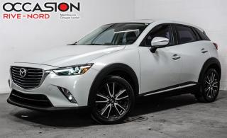 Used 2016 Mazda CX-3 GT AWD CUIR+TOIT.OUVRANT+CAM.RECUL for sale in Boisbriand, QC