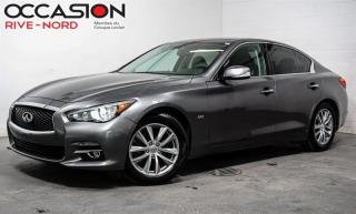 Used 2016 Infiniti Q50 2.0t AWD CUIR+MAGS+TOIT.OUVRANT for sale in Boisbriand, QC