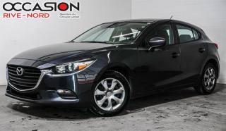 Used 2018 Mazda MAZDA3 Sport GX A/C+SIEGES.CHAUFFANTS+CAM.RECUL for sale in Boisbriand, QC