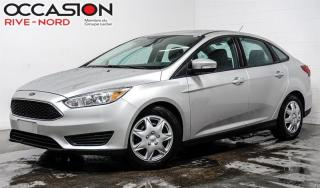 Used 2016 Ford Focus SE SIEGES.CHAUFFANTS+CAM.RECUL+BLUETOOTH for sale in Boisbriand, QC