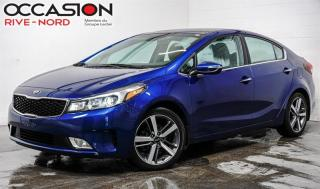 Used 2017 Kia Forte SX NAVI+CUIR+TOIT.OUVRANT for sale in Boisbriand, QC
