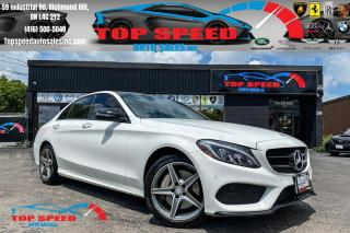 Used 2016 Mercedes-Benz C-Class C300 / AMG PACKAGE / NIGHT PACKAGE / TECH / NAV for sale in Richmond Hill, ON