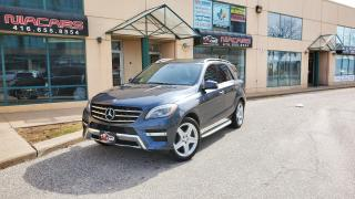 Used 2014 Mercedes-Benz M-Class ML 350 BlueTEC**AMG PKG**RUNNING BOARD**NAVI** for sale in North York, ON