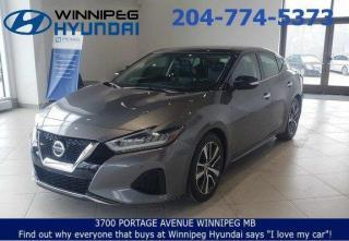 Used 2019 Nissan Maxima SL for sale in Winnipeg, MB