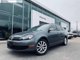 Used 2012 Volkswagen Golf Wagon COMFORTLINE WAGON! 2.5L! TWO SETS OF WHEELS AND TIRES for sale in Pickering, ON