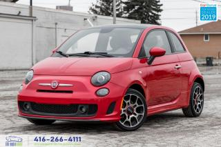 Used 2014 Fiat 500 Sport Turbo|Manual|Alloys|Keyless|Sunroof|PW|PL for sale in Bolton, ON