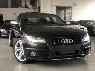 Used 2010 Audi S4 Premium RED LEATHER MANUAL for sale in Oakville, ON