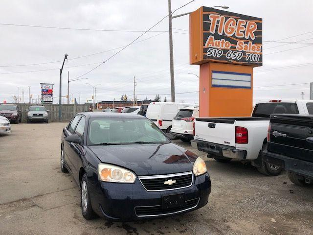2007 Chevrolet Malibu LS**ONLY 138KM**AUTO**AS IS SPECIAL