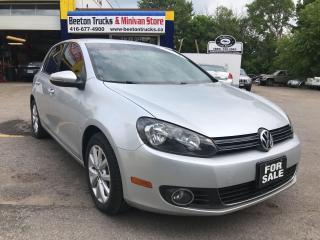 Used 2013 Volkswagen Golf COMFORTLINE for sale in Beeton, ON