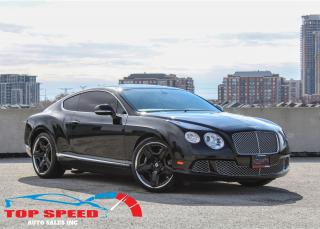 Used 2012 Bentley Continental GT | W12 | AWD | DIAMOND STITCH for sale in Richmond Hill, ON
