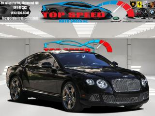 Used 2013 Bentley Continental W12 / AWD / MULLINER PACKAGE / DIAMOND RED SEATS for sale in Richmond Hill, ON