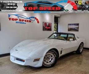 Used 1980 Chevrolet Corvette C3/ ORIGINAL KM'S / SAFETY & CERTIFIED /TARGA ROOF for sale in Richmond Hill, ON