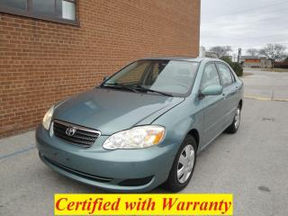 Used 2005 Toyota Corolla Sunroof, 127k km, Low Mileage CE for sale in Oakville, ON