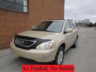Used 2009 Lexus RX 350 NO ACCIDENT, LEATHER, ALLOYS for sale in Oakville, ON
