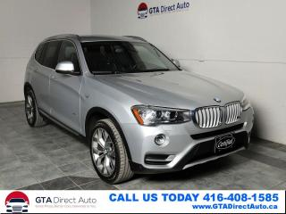 Used 2016 BMW X3 xDrive35i X-Line V6 HUD Nav Pano Camera Certified for sale in Toronto, ON