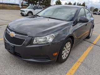 Used 2011 Chevrolet Cruze LT Turbo w/1SA for sale in Brampton, ON