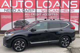 Used 2017 Honda CR-V TOURING-ALL CREDIT ACCEPTED for sale in Scarborough, ON