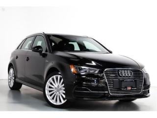 Used 2016 Audi A3 e-tron 1.4T   TECHNIK   WARRANTY   1 OWNER   NAVI for sale in Vaughan, ON