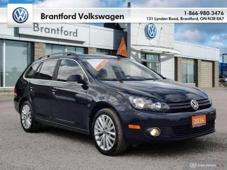 Used 2014 Volkswagen Golf Wagon Wolfsburg Edition 2.0 TDI 6sp for sale in Brantford, ON