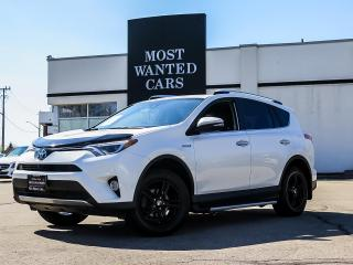 Used 2016 Toyota RAV4 Hybrid Limited|AWD|NAVIGATION|CAMERA|BLIND|LDW for sale in Kitchener, ON